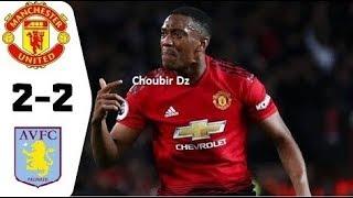 Manchester United Vs Aston Villa 2 2 Premier League 01/12/2019