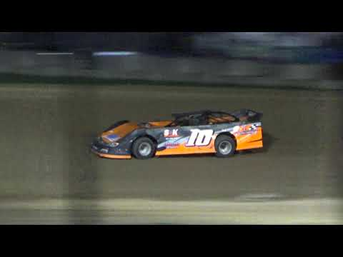 Late Model Heat #2 at Crystal Motor Speedway, Michigan on 09-15-2018!