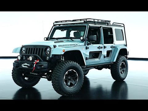 Jeep Switchback Video INTERIOR Jeep Switchback Concept Video 2017 CARJAM TV HD