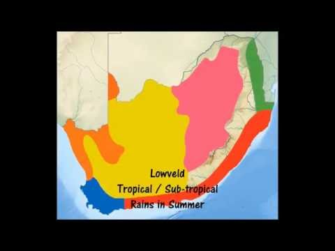 Climatic Regions of South Africa