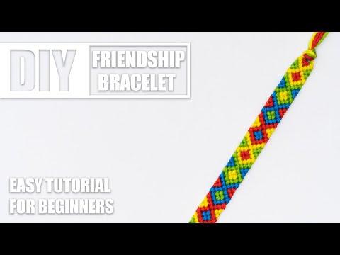 Fish Chevron Zigzags Diamonds Macrame Friendship Bracelets | Easy Tutorial For Beginners