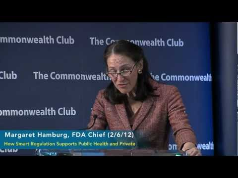 Margaret Hamburg, FDA Chief (clip) (2/26/12)