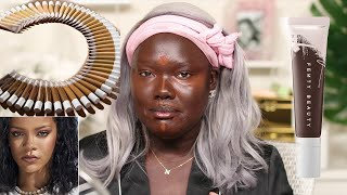 Sooo.. Fenty gave us dry skin girls a Hydrating Foundation || Nyma Tang