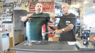 Hard Steel Carbide Tipped Bits Demo
