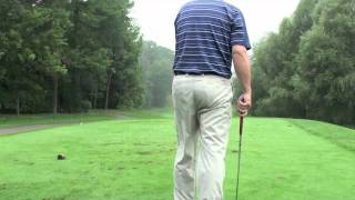 FADE AND DRAW BLIND SHAWN CLEMENT WISDOM IN GOLF