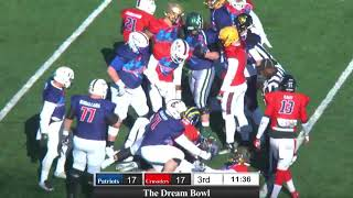 2018 The Dream Bowl - Patriot Team offense vs Crusader Team defense