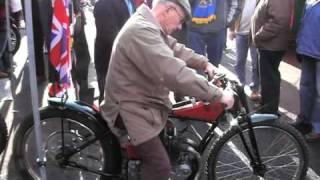 Alf Hagon On A Rudge Video