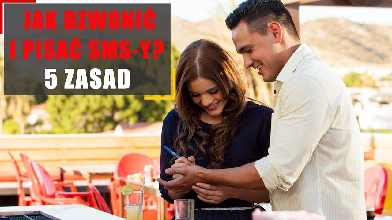 Podrywanie. 5 zasad dzwonienia i pisania SMS-ów