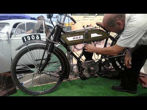 Мотоцикл BSA 1910