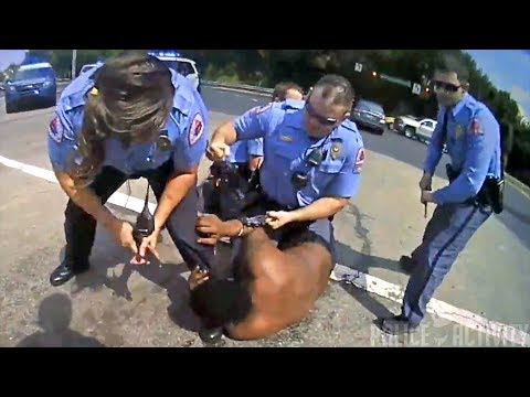 Bodycam Footage Shows Man Fighting And Biting Police Officers thumbnail