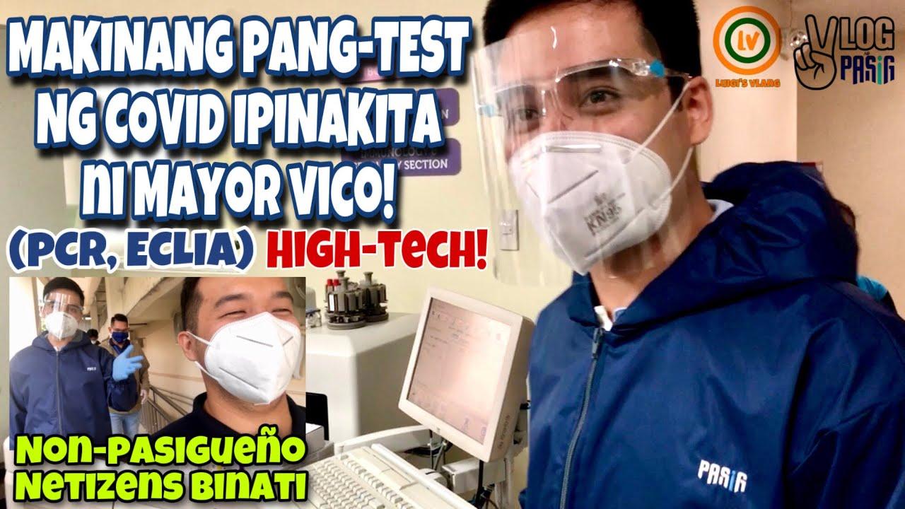 MAYOR VICO: Pasig may sariling COVID TEST MACHINES na | SANA ALL!