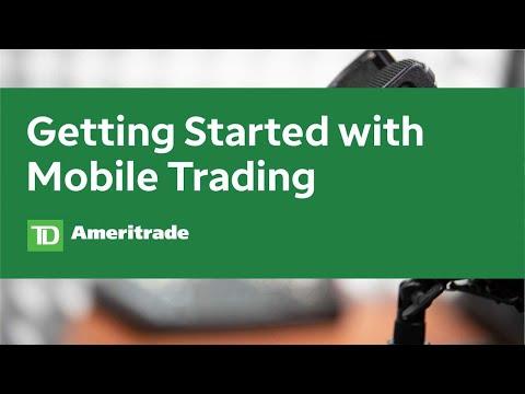 Enabling options trading on tda