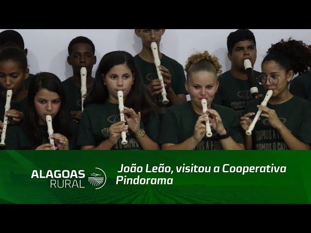Governador em exercício da Bahia, João Leão, visitou a Cooperativa Pindorama