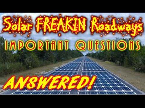 solar-roadways,-important-questions-and-answers!