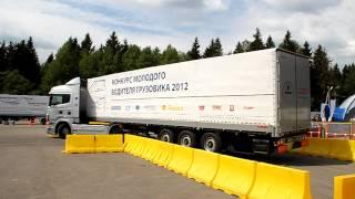 Молодой водитель грузовика 2012. Гараж(, 2012-06-25T20:48:57.000Z)