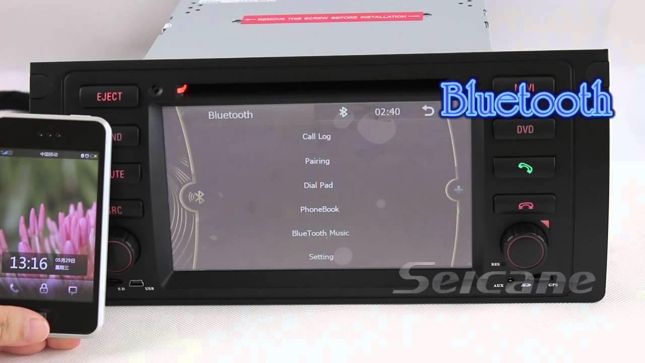 bmw 5 series e39 dvd player gps navigation system 1996. Black Bedroom Furniture Sets. Home Design Ideas