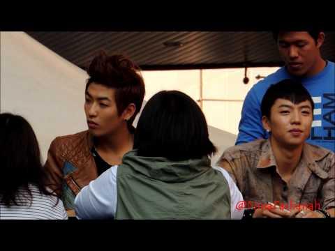 [FANCAM] 121013 CHANYONG SAYING HE'S '나쁜놈' (Bad boy) - ILSAN FANSIGN