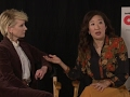 Fight scene tips with Sandra Oh and Anne Heche