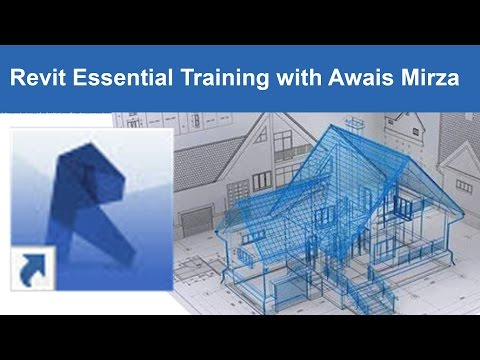 Revit tutorial Architectural Getting Started Tutorial 1