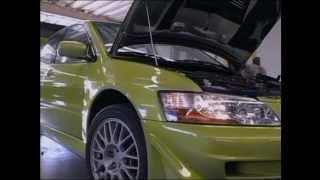 видео Mitsubishi Lancer Evolution VII