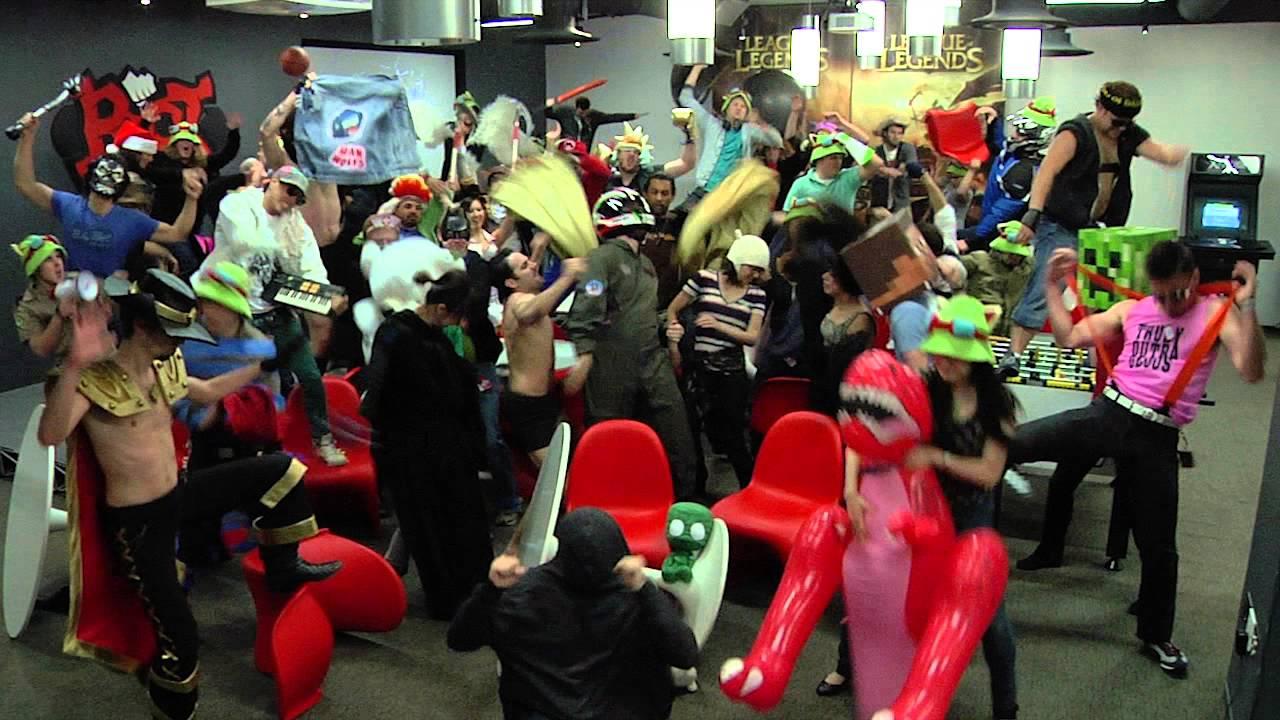 Riot Games Harlem Shake