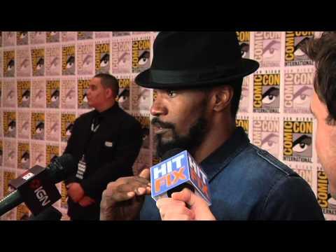 Comic Con 2012 - Jamie Foxx talks Quentin Tarantino for 'Django Unchained'