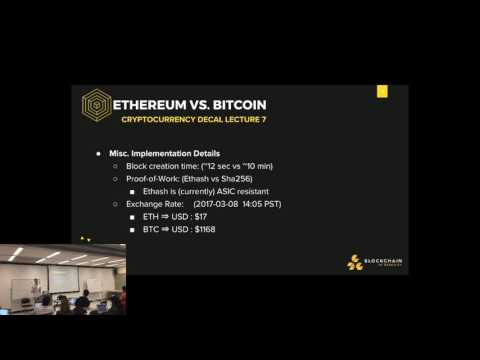 Lecture 7: Ethereum & Smart Contracts: Enabling A Decentralized Future