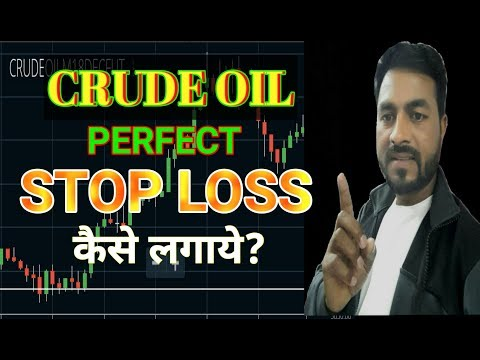 Perfect Stop loss For Intraday Trading | Crude Oil