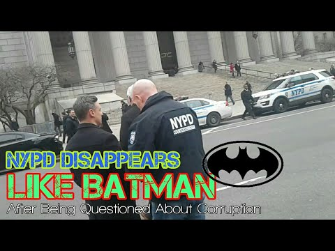 NYPD Bomb Squad And Counter-Terrorism Unit Runs From QuietBoyMusik In New York City - Batman