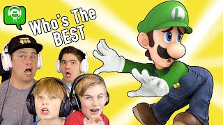 Who is the BEST Luigi SMASH BROS in HOBBYGAMING