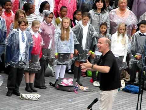 Kids Choir at Thames Festival 2011
