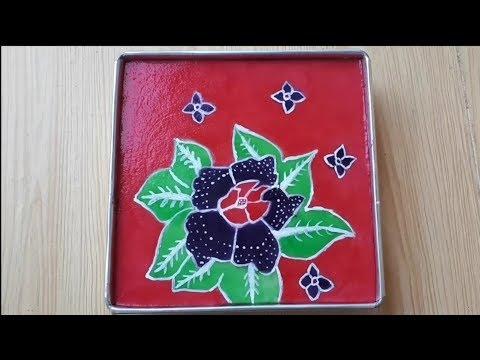 Resep: Puding Lukis Batik   Batik Painted Jelly