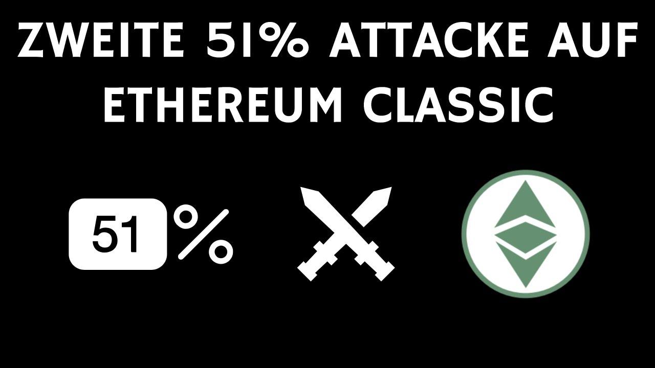Zweite 51% Attacke auf Ethereum Classic