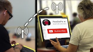 Secretly Subscribing People to PewDiePie thumbnail