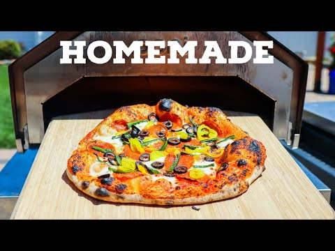 Homemade Pizza With The Ooni Pro Pizza Oven
