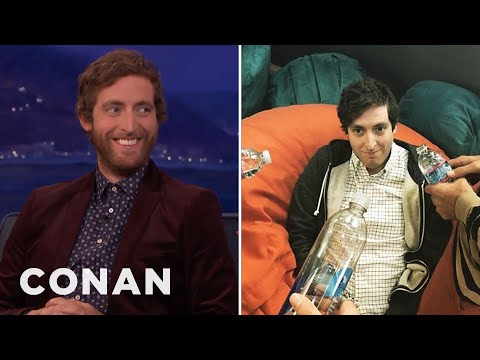 "Thomas Middleditch On The ""Silicon Valley"" Bone Zone  - CONAN on TBS"
