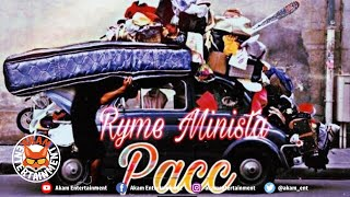 Ryme Minista - Pacc Me Things - March 2020
