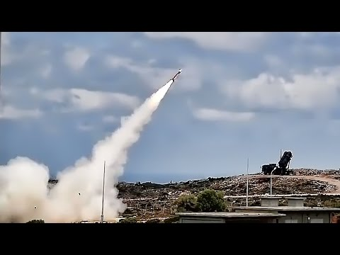 Live Fire SAM Patriot Missile System From Greece