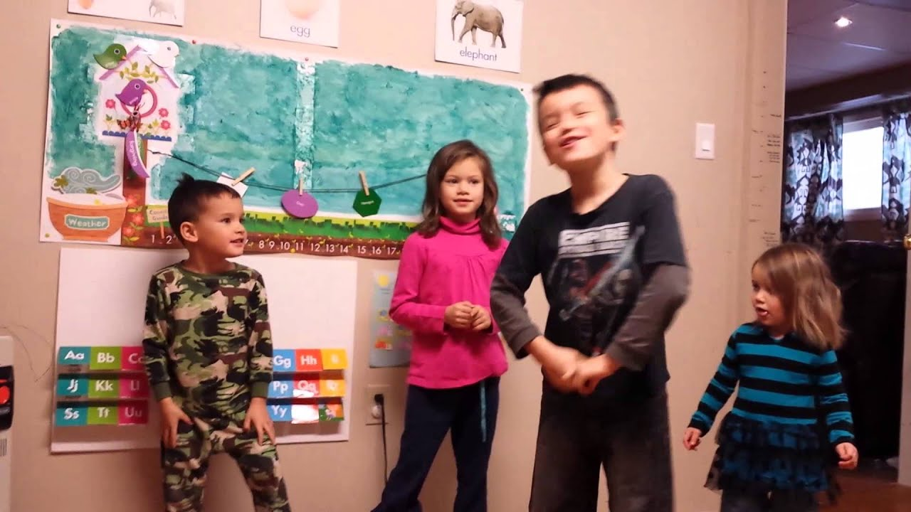 Cute Kids Act Out their School Story-Jurassic Jam - YouTube