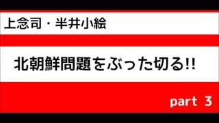 【上念司×半井小絵】北朝鮮問題語る!! 2017/4/19 part 3 半井小絵 検索動画 22