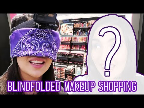 I Bought A Full Face Of Makeup Blindfolded