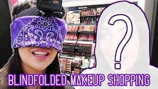 I bought an entire full face of makeup blindfolded to test fate and see what would happen! What do you think of my blindfolded shopping challenge and my final ...