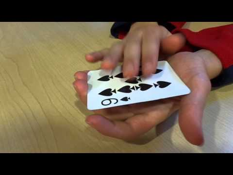free levitation magic the spinning card