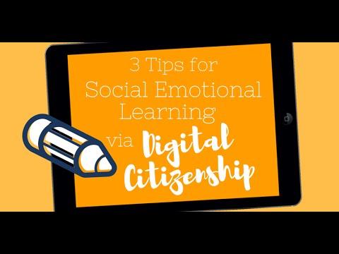 Digital Citizenship And Social >> 3 Tips For Social Emotional Learning Via Digital Citizenship