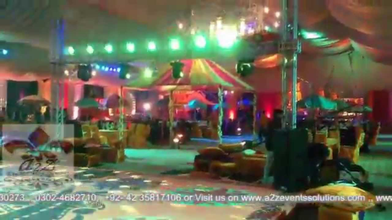 Mehndi Menu In Lahore : Mehndi vip piala stage behria farm house best events