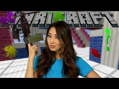 MINECRAFT PAINTBALLS IN YOUR FACE! (Maricraft)