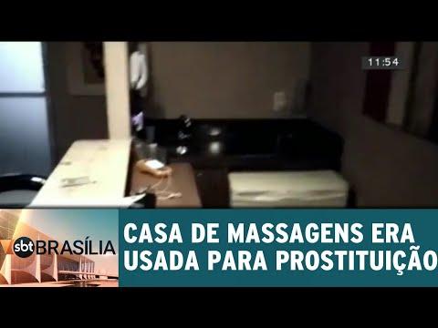 Casa de massagens usada para prostituição é fechada pela polícia | SBT Brasília 18/07/2018