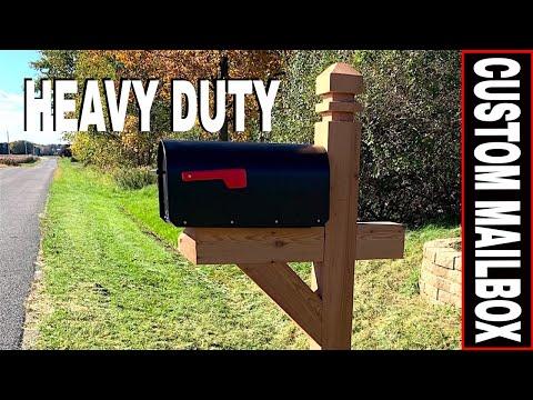 HOW TO BUILD A CUSTOM HEAVY-DUTY MAILBOX & ADDING FENCE ARMOR POST PROTECTOR