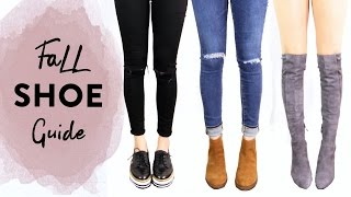 Fall Shoe Guide 2016 | Fall Boots Review | Miss Louie