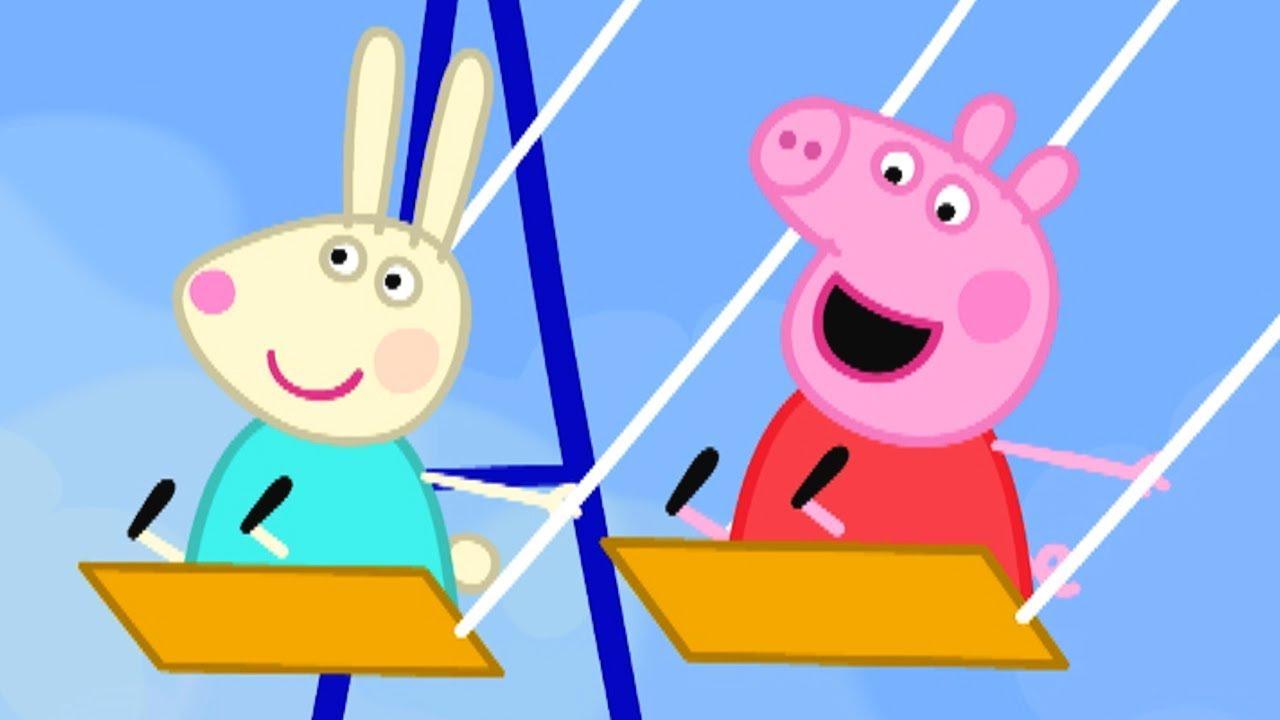 Peppa Pig świnka Peppa Po Polsku świnka Peppa Na Placu Zabaw Bajki Po Polsku